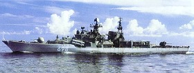 PRC Navy Destroyer Sovremenny Class