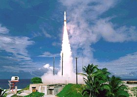 Test Missile Intercepteur